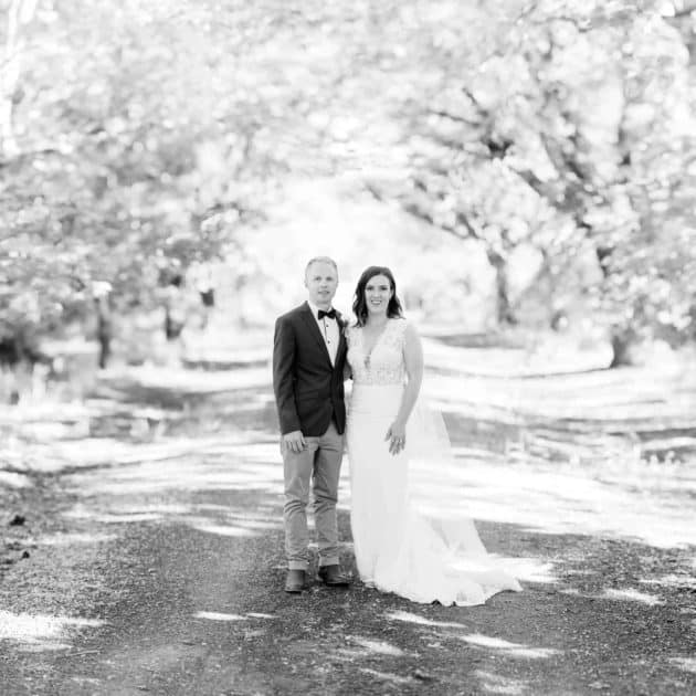 Wedding photography at Narmbool in Victoria