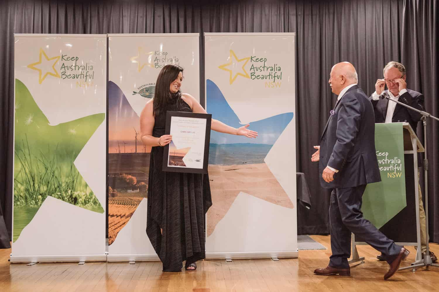 Chris Gryllis Tidy Towns Awards 2018