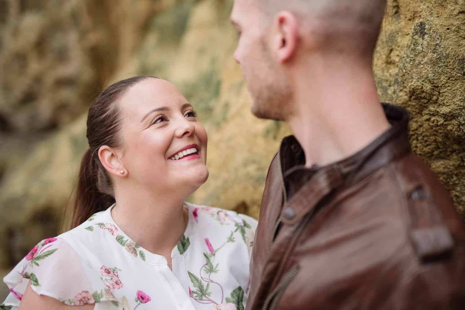 Engagement photographer in Victoria