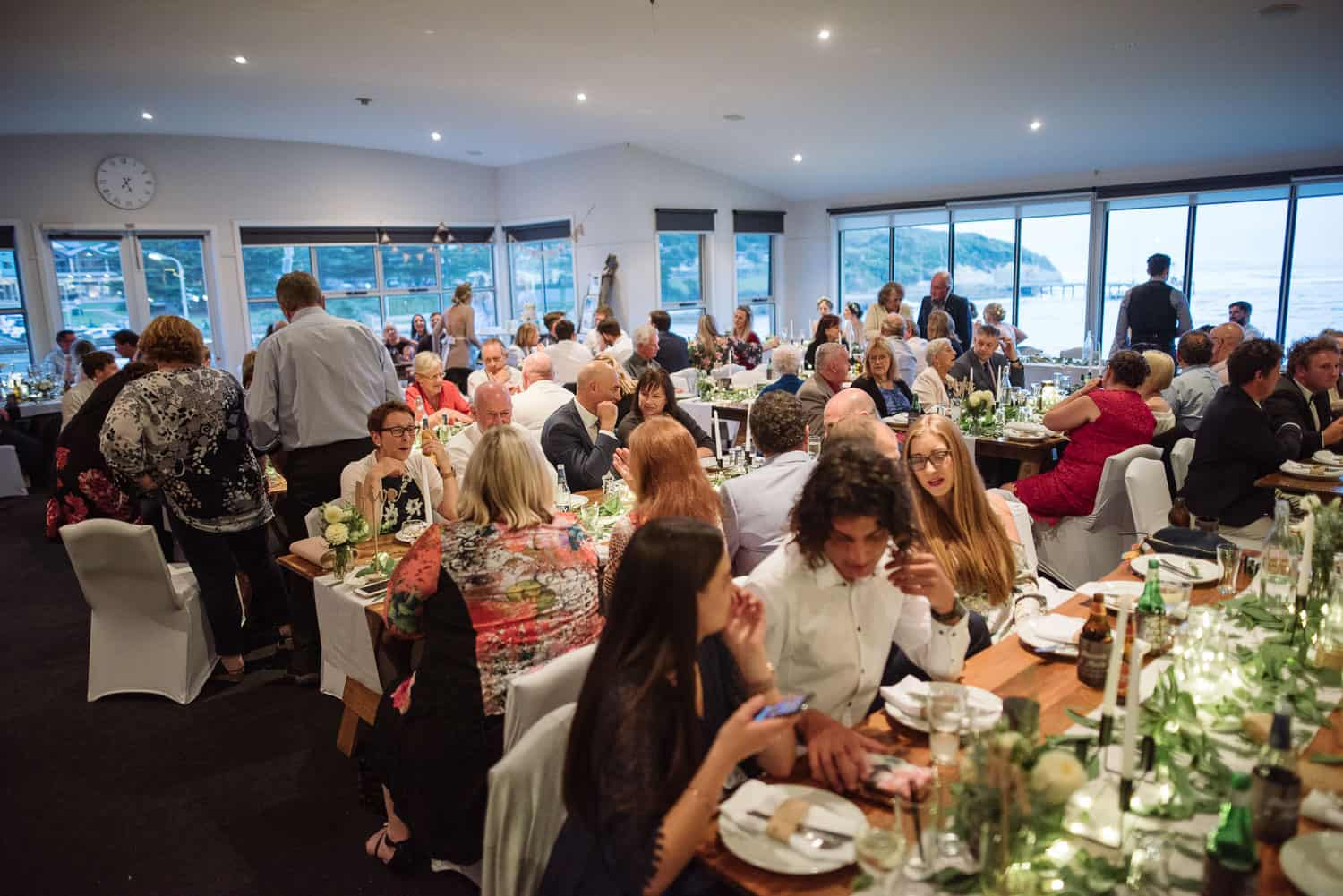 Port Campbell Surf Club wedding reception