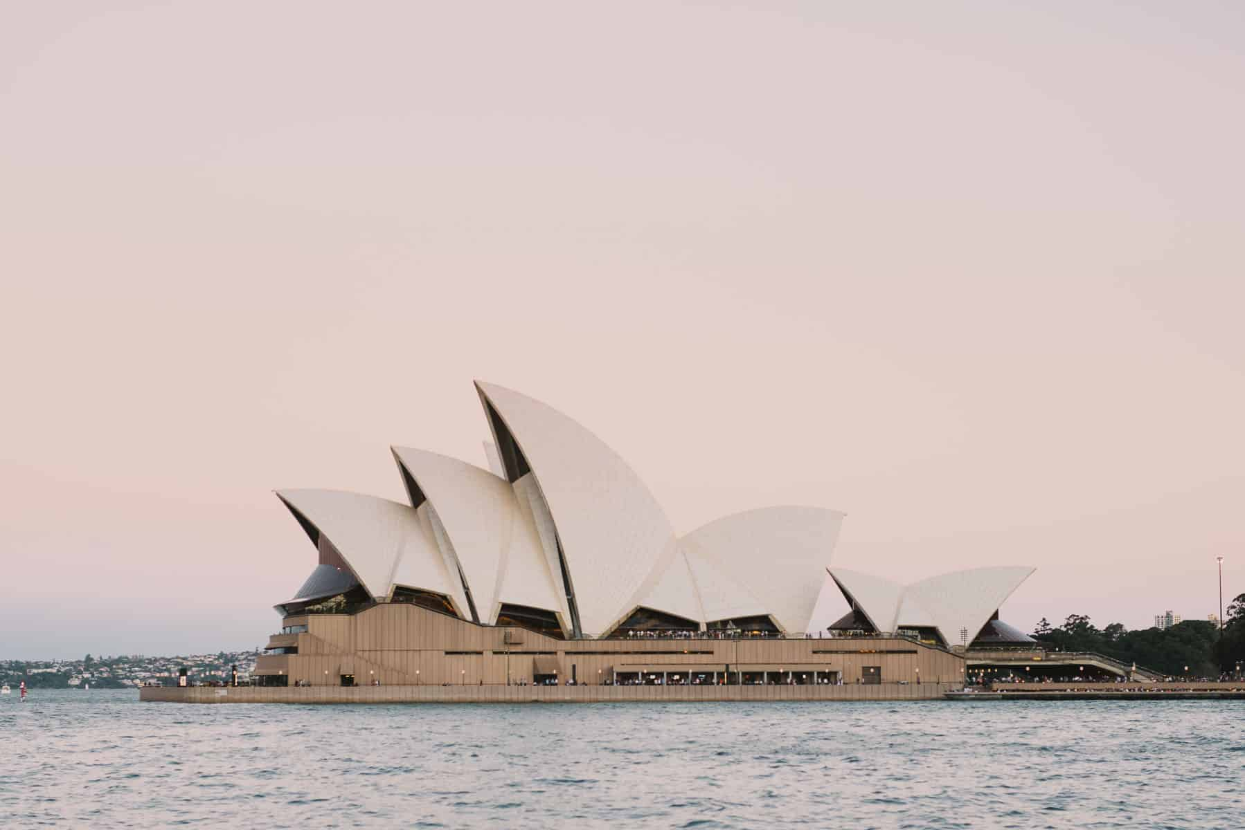 The Sydney Opera House at dawn