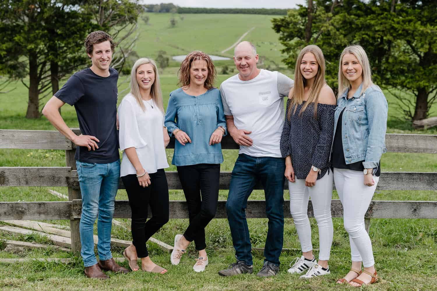 Dyunhoven family portrait near Timboon
