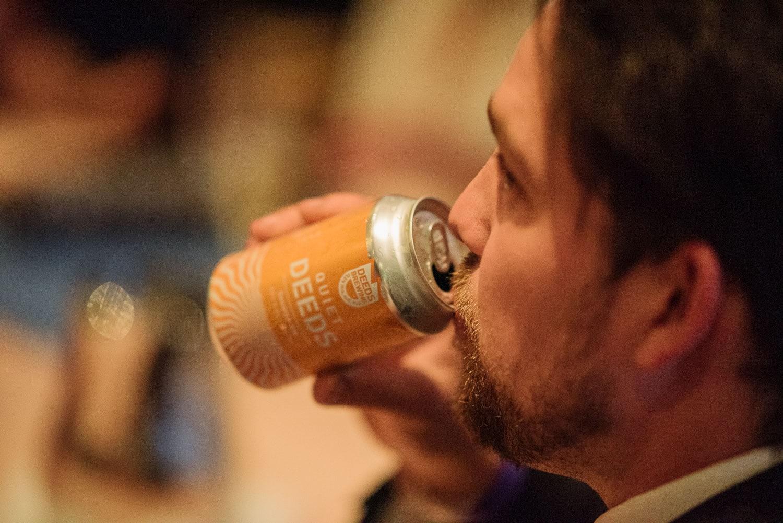 Quiet deeds beer drunk at UGC Hotel