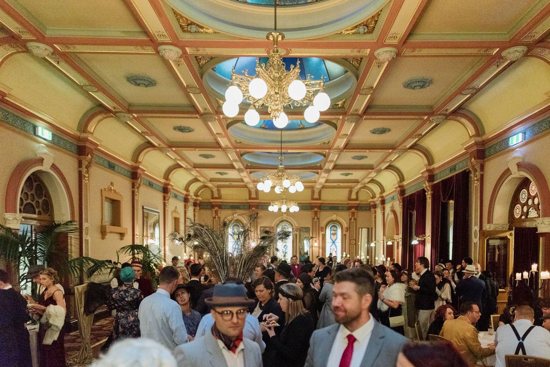 Historical Hotel Windsor ballroom