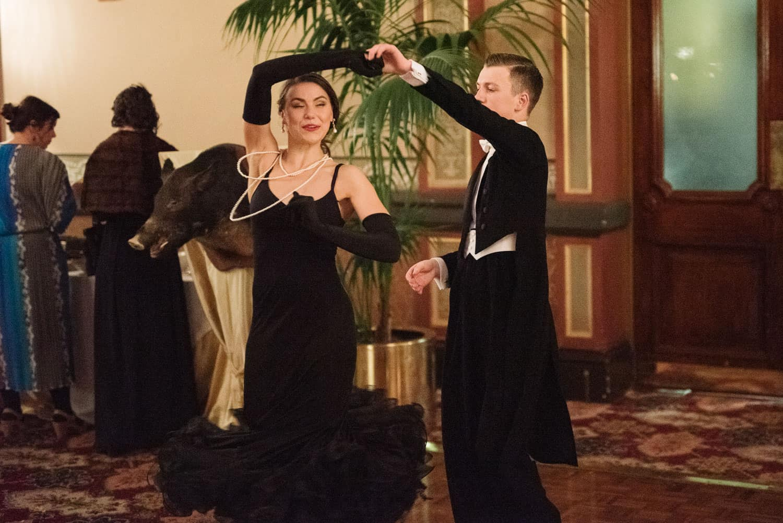 Ballroom dancing at the Hotel Windsor