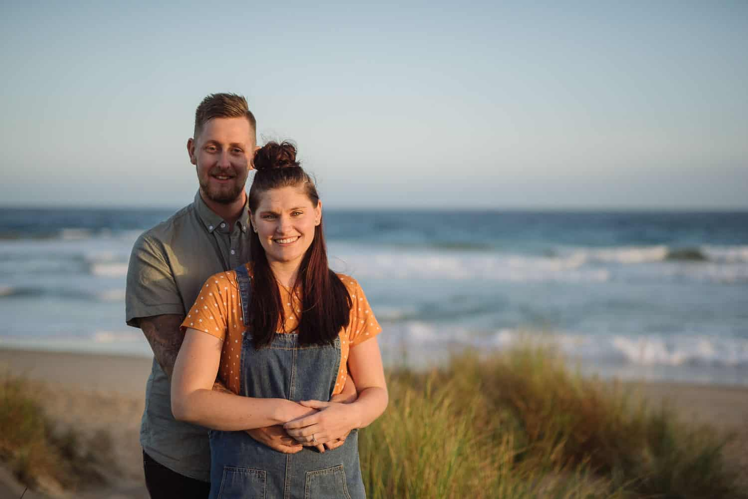 Couple on the beach at Apollo Bay