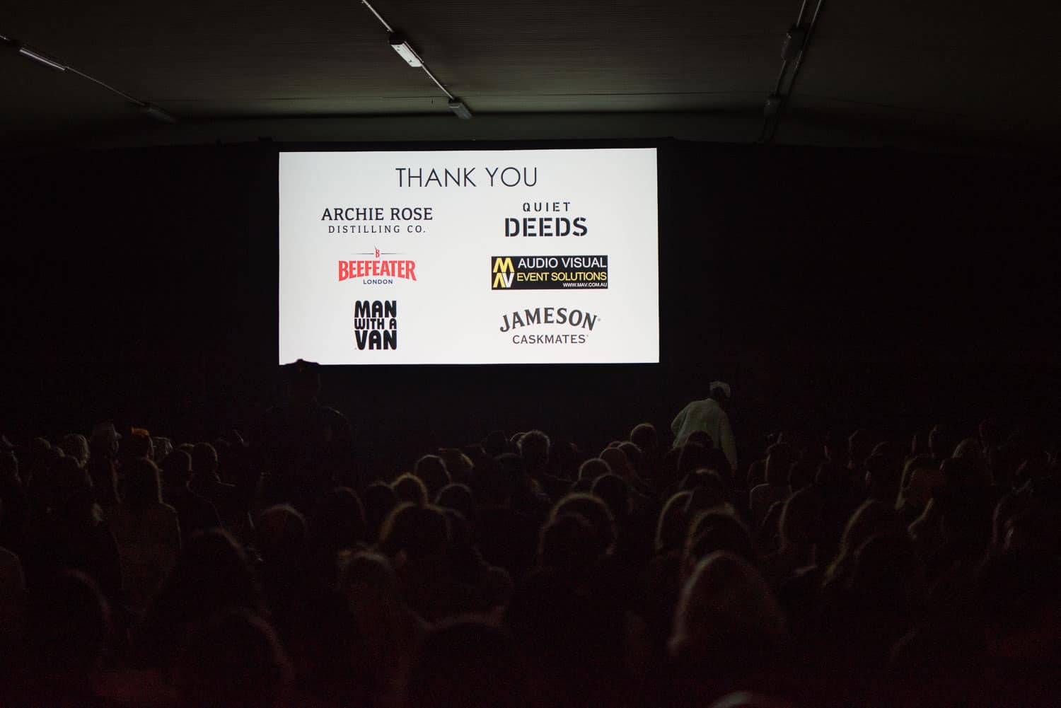 Sponsors at Underground Cinema Delirium