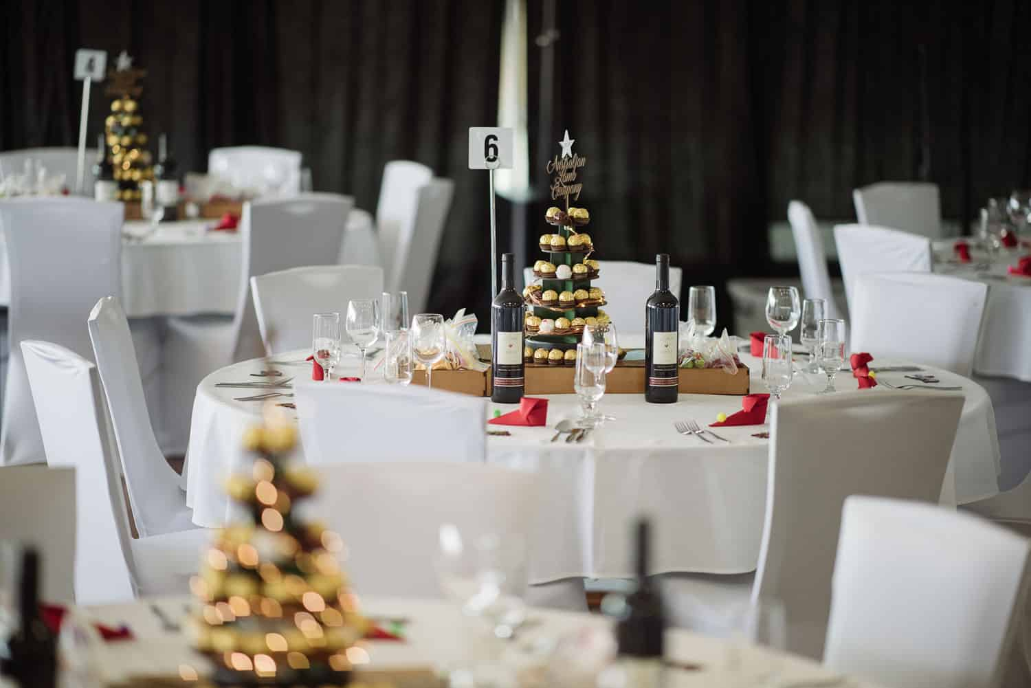 Christmas party at the Colac Bowls Club