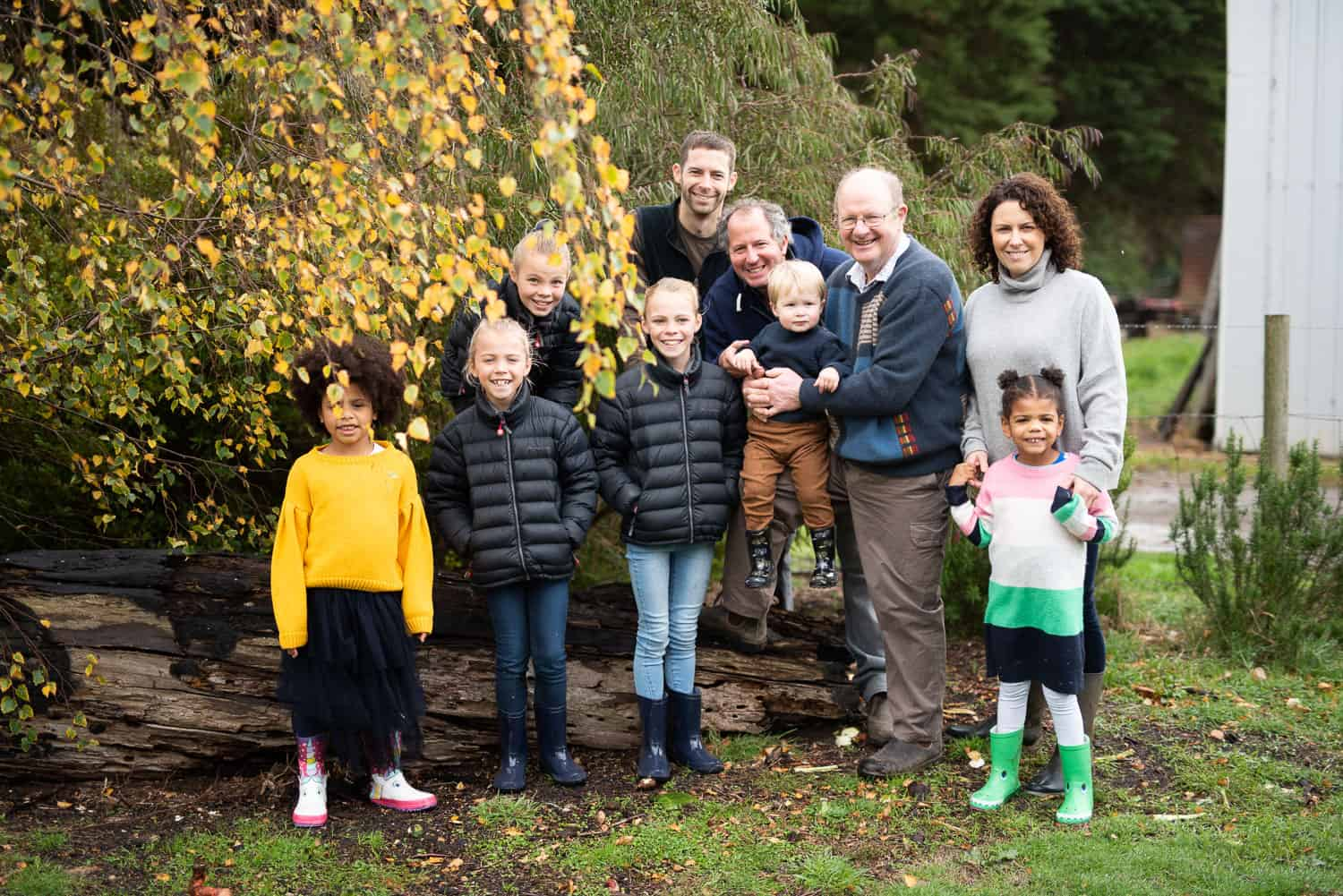 Autumnal family portraits in Victoria