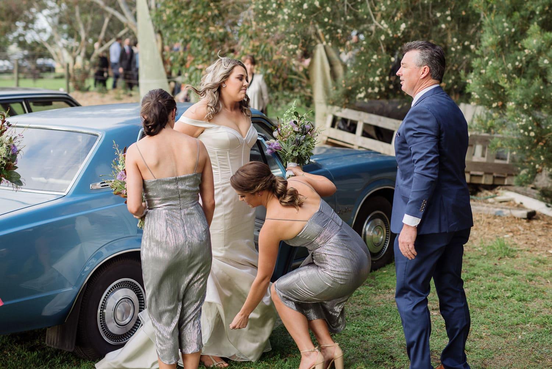 Fianl wedding preparations