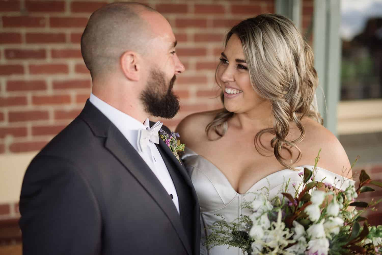 Wedding Portrait at Koroit station