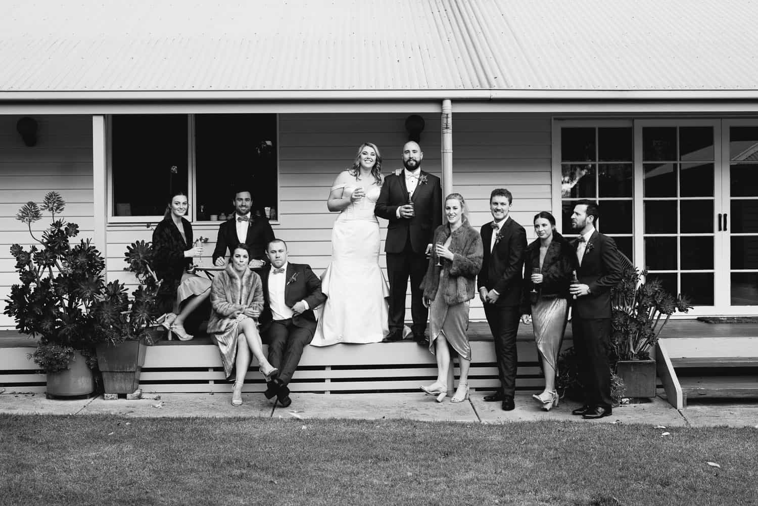 Wedding party near Koroit