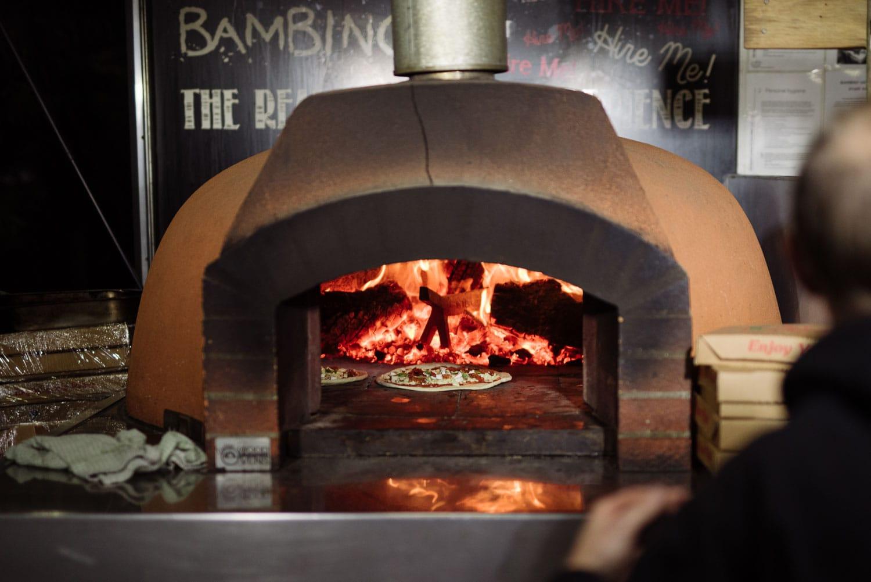 Bambinos Pizza oven