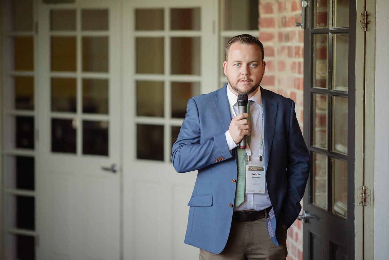Robbie McKernan at the AWEF 2019