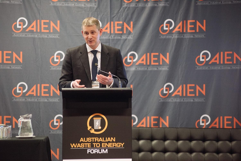 Waste to energy forum speaker