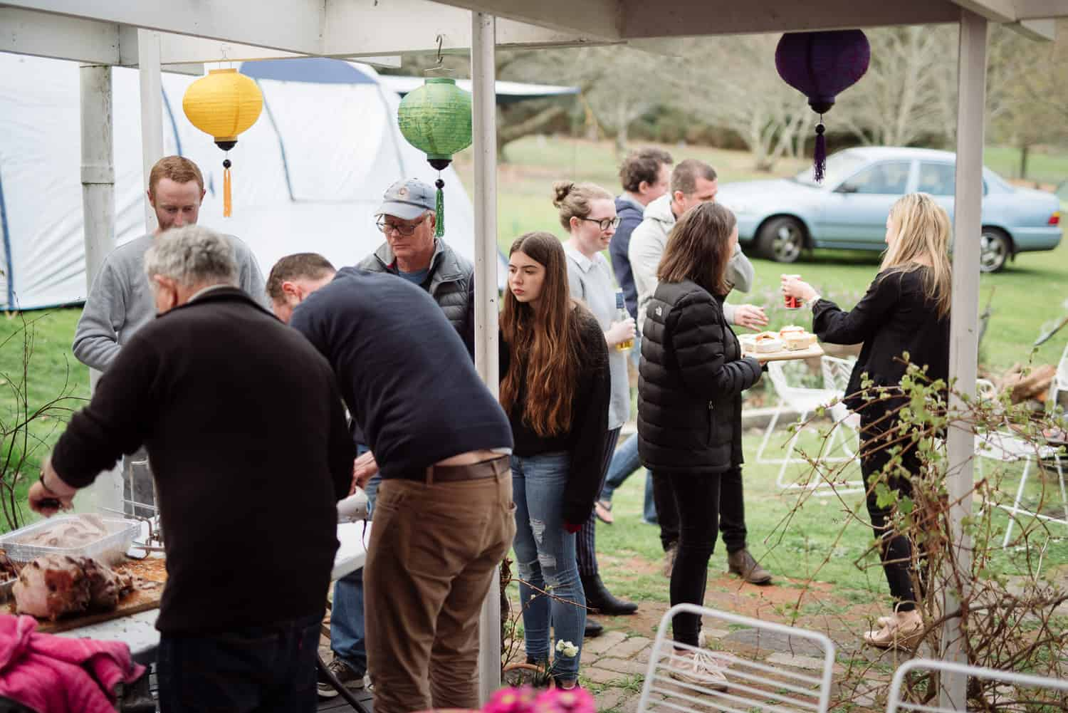 Family birthday party near Colac