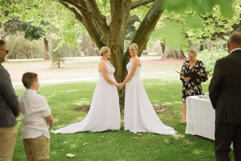 Colac same sex wedding ceremony