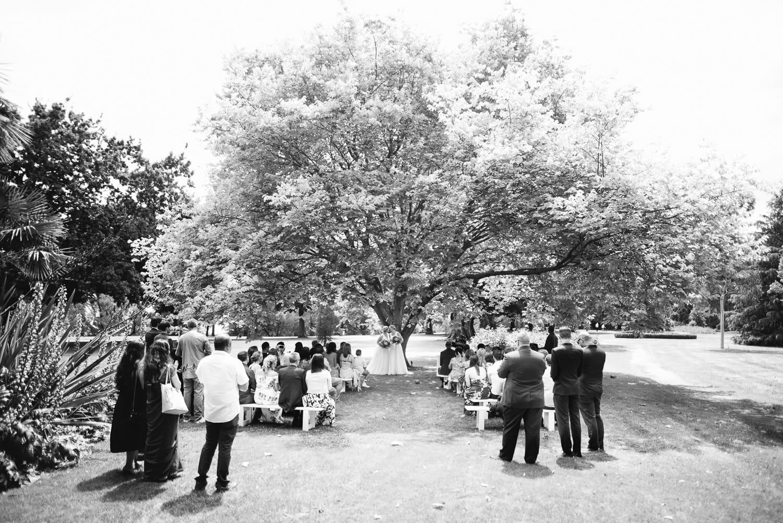 Colac botanic garden wedding