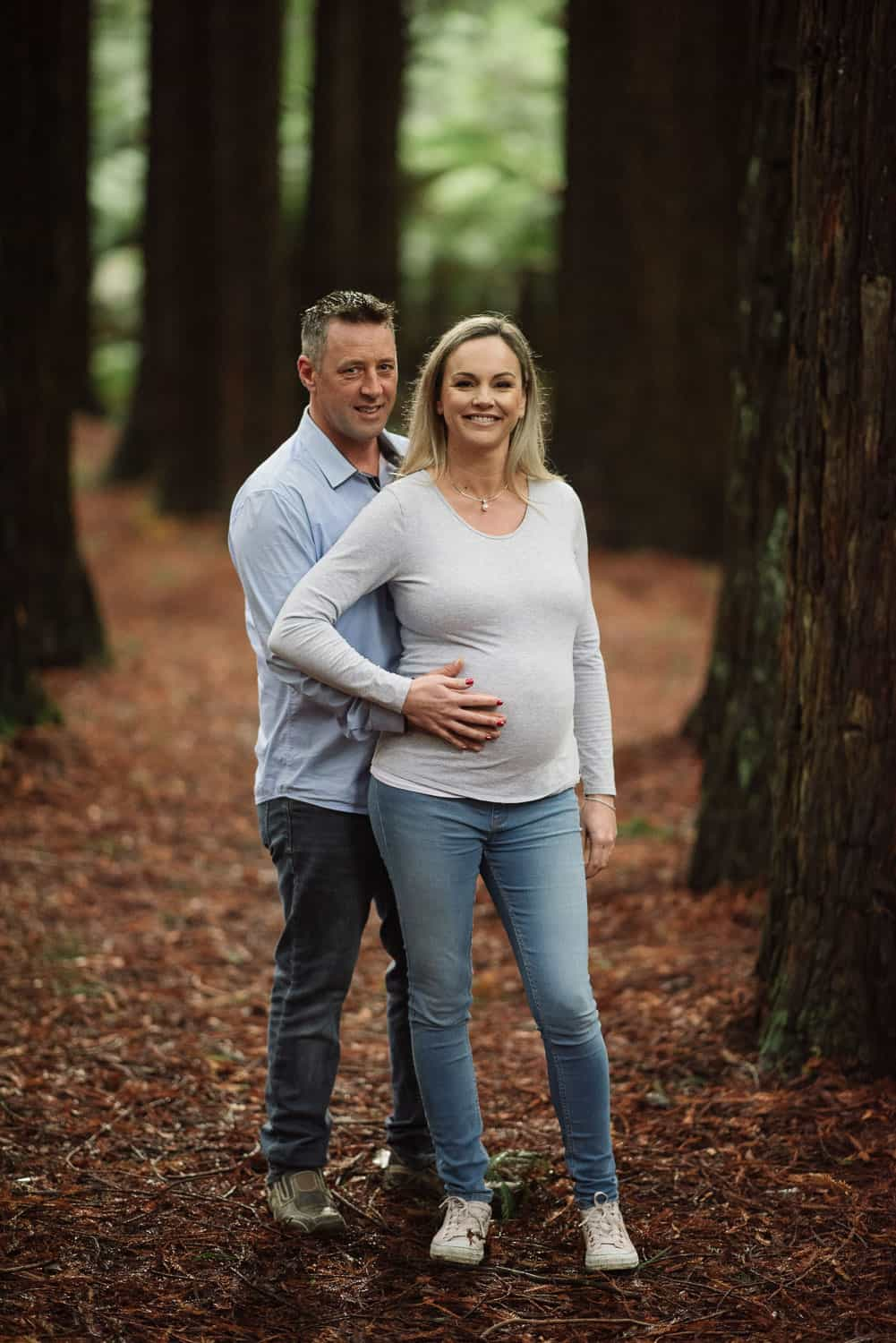 Redwoods Maternity portraits