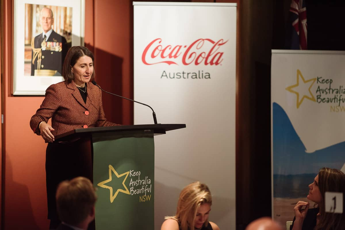 Gladys Berejiklian at NSW Parliament
