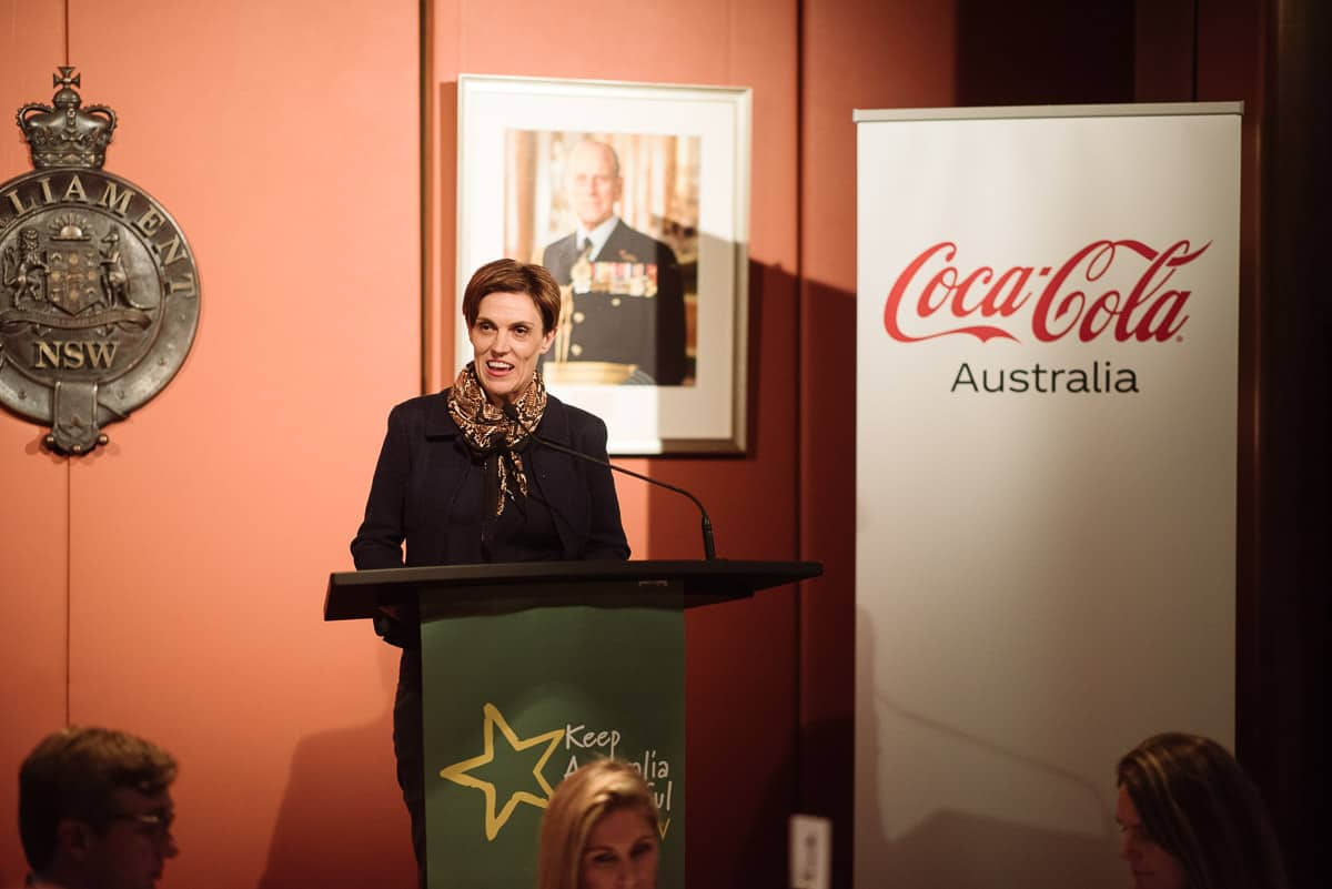 Christine Black from Coca Cola South Pacific