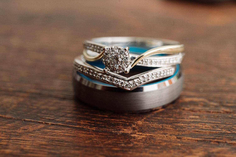 Wedding rings at Blauvelt Park