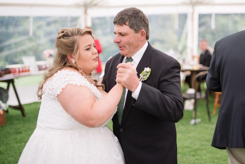 Wedding reception at Blauvelt Park
