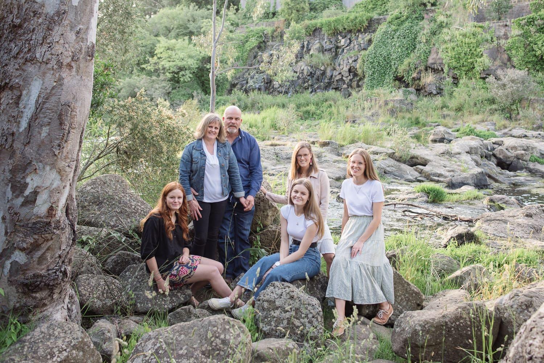 Buckley Falls family portraits