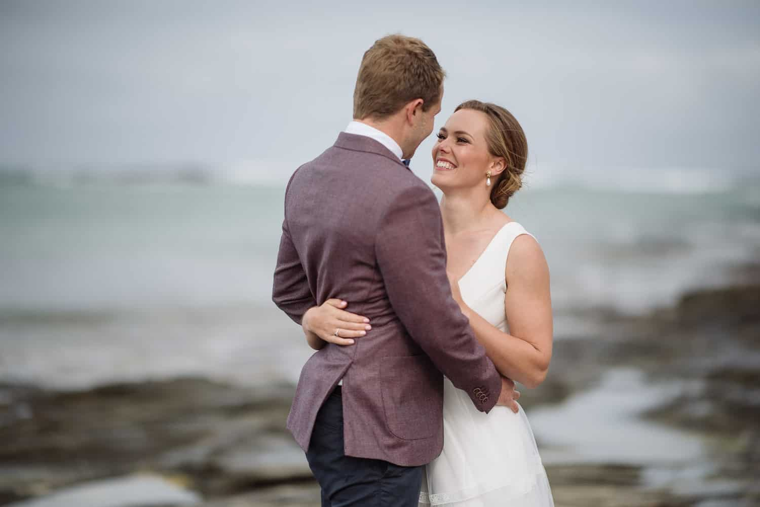 Wedding portraits at Apollo Bay