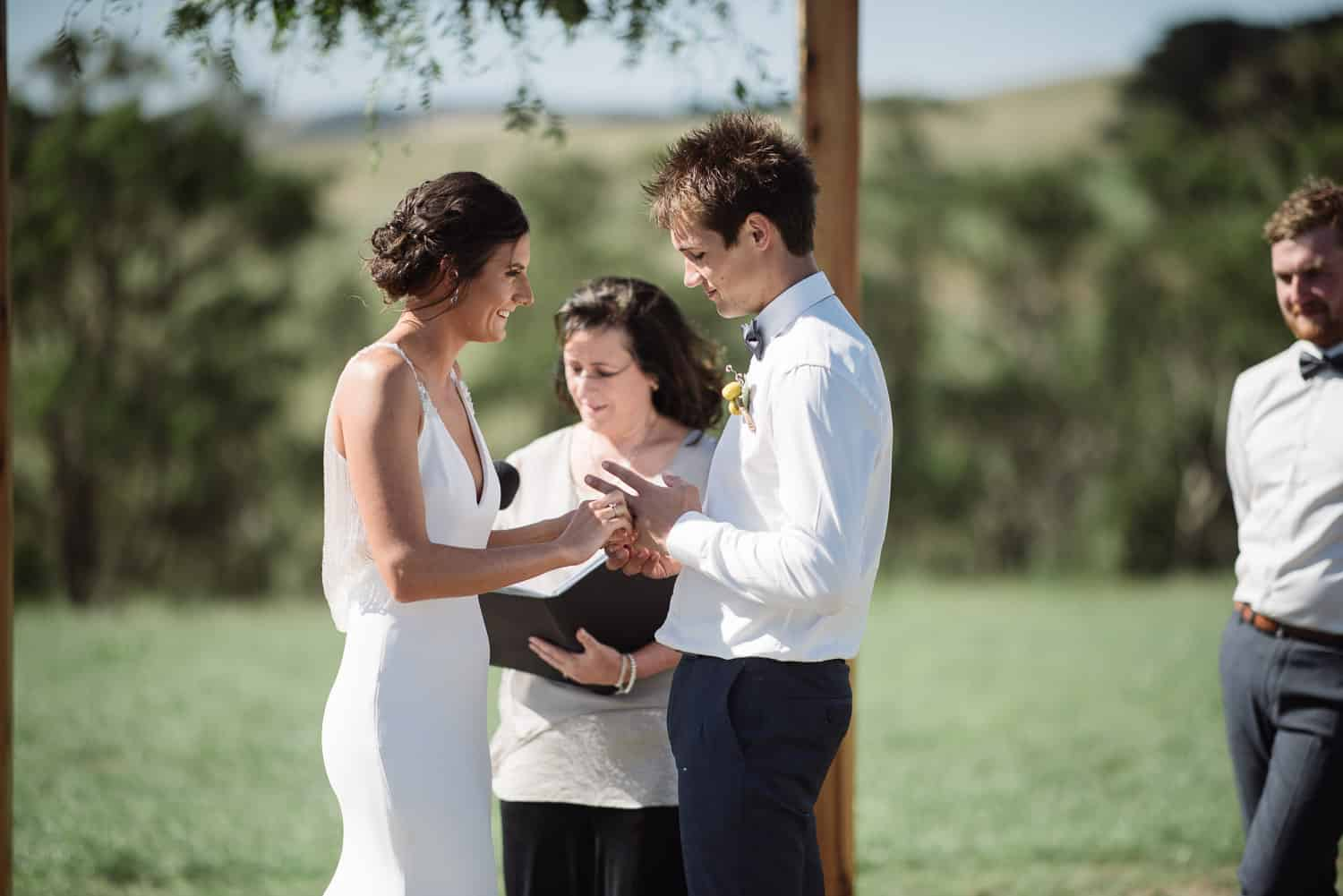 Country Victorian wedding