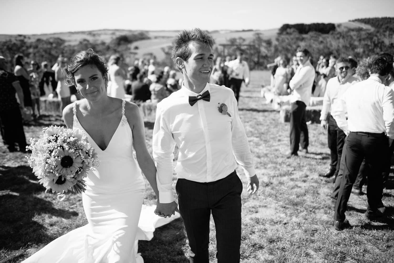 Rural victoria wedding